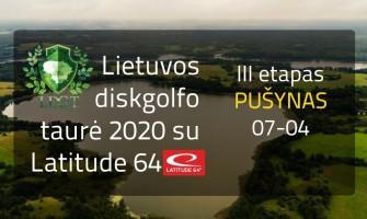 Lietuvos diskgolfo taurė 2020 su Latitude 64 – III – Pušynas