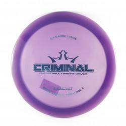 DYNAMIC DISCS - CRIMINAL, LUCID