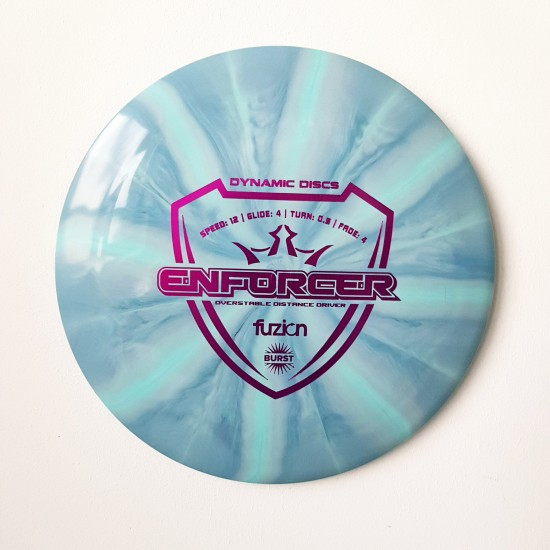 DYNAMIC DISCS - ENFORCER, FUZION BURST