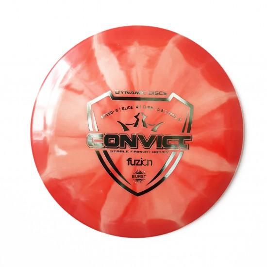 DYNAMIC DISCS - CONVICT, FUZION BURST